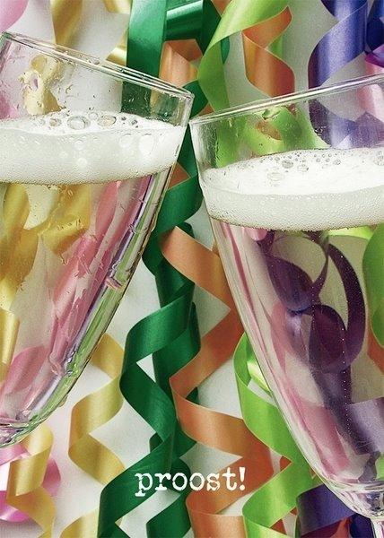 Champagne Glazen Closeup