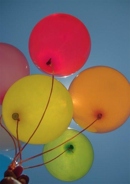 Balonnen Van Onderen