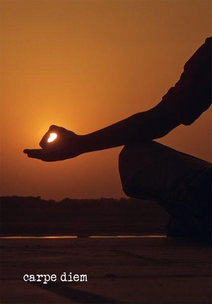 FairMail Carpe Diem Meditatie Hand
