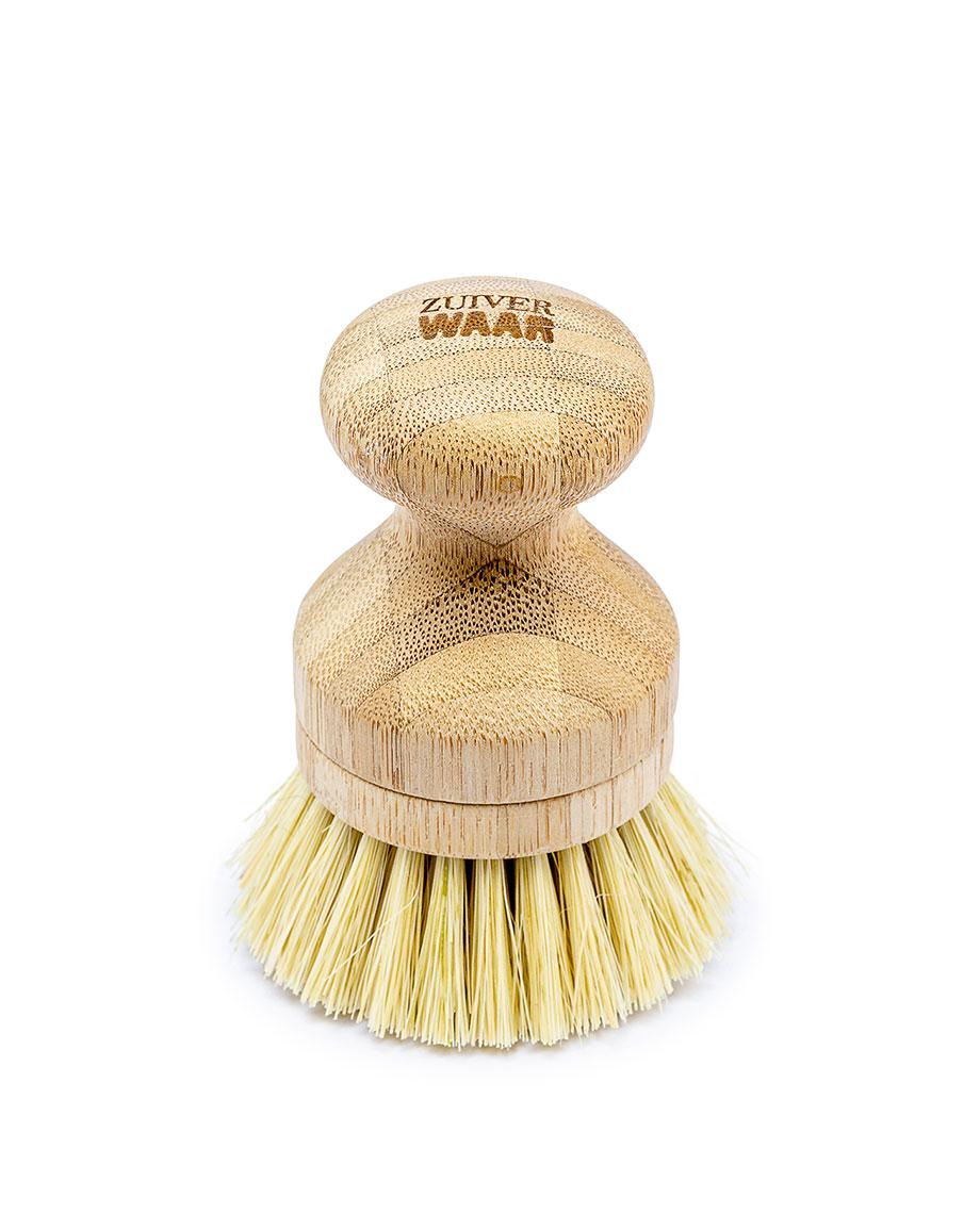 ZuiverWAAR Vaatborstel zonder steel bamboo