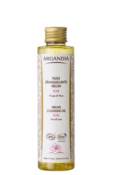Argan Reinigingsolie Rozen 150ml