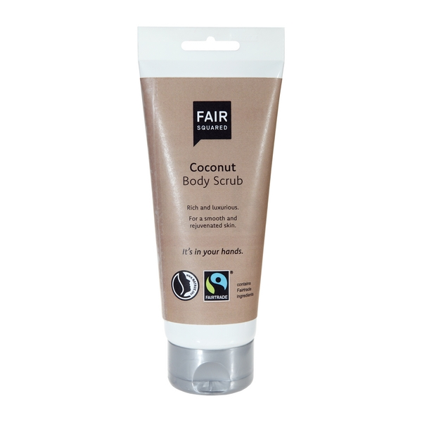 Fair Squared Fair Squared Body Scrub Coconut 250ml