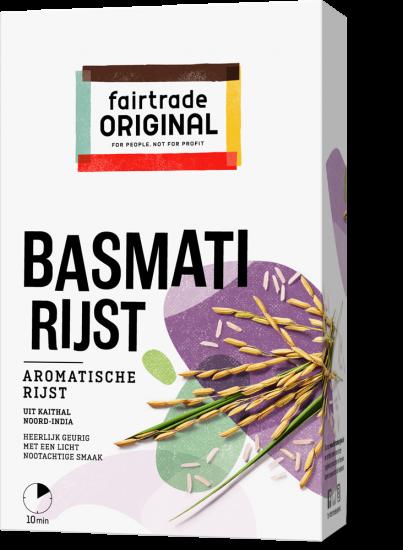 Fair Trade Original Basmatirijst, MH, 400g