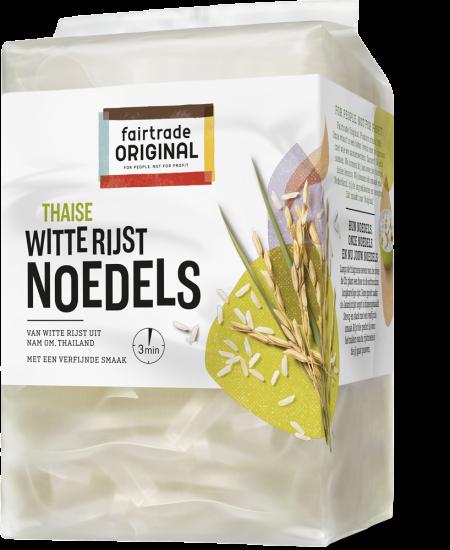 Fair Trade Original Rijstnoedels witte rijst, MH