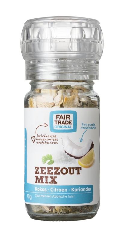 Fair Trade Original Zeezoutmix Kokos-Citroen, FFL, 70g