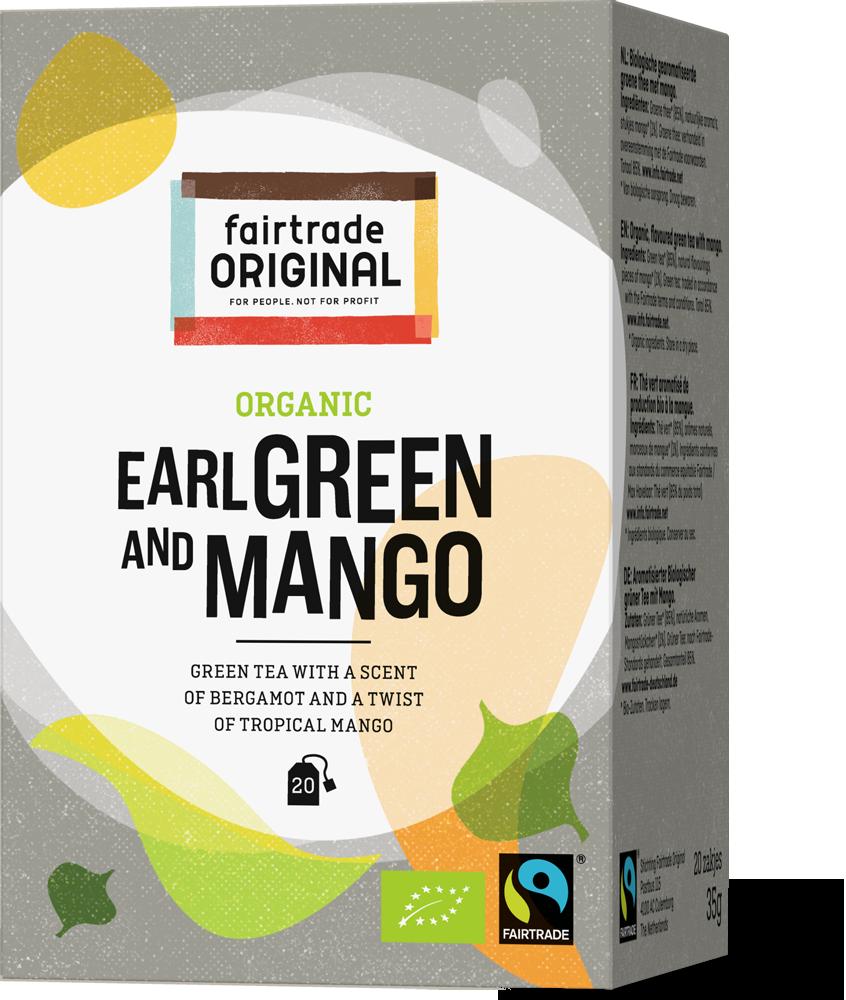 Thee Earl green mango, bio,MH,20x1,75g