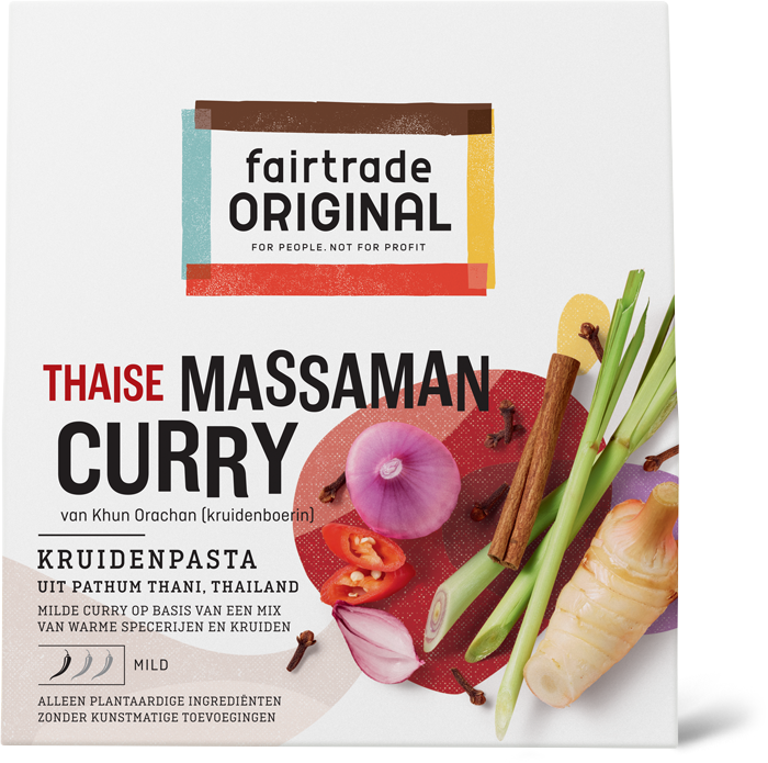 Massaman Curry kruidenpasta, MH, 70g