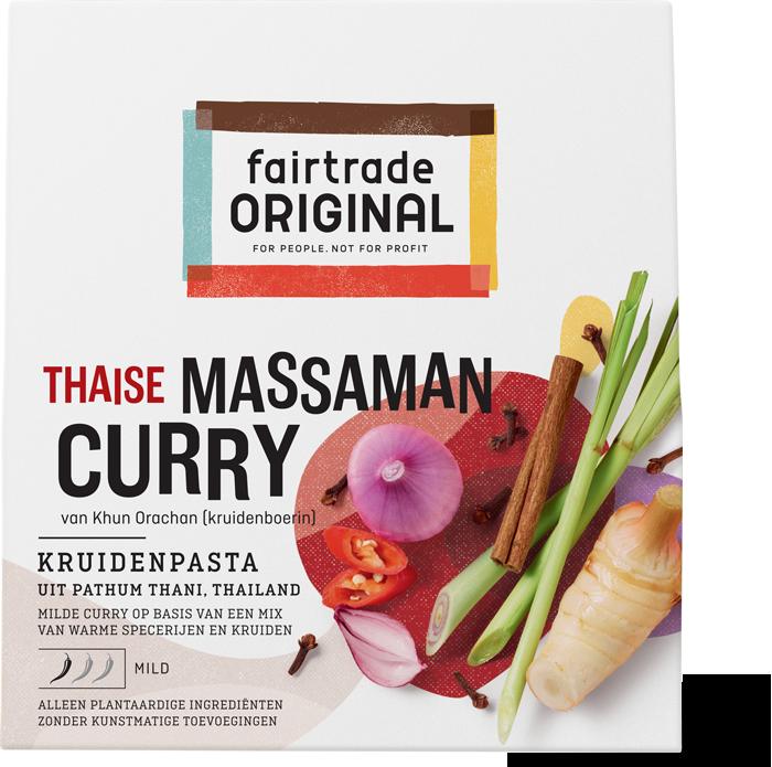 Massaman Curry kruidenpasta, MH, 70g