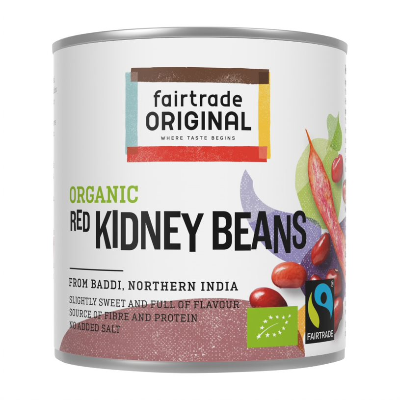 Red kidneybeans, org, FT, 250g