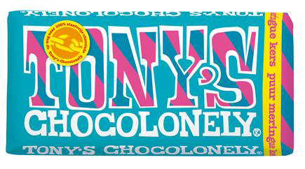 Tonys Chocolonely Reep Tony excl. Puur Meringue Kers, 180gr