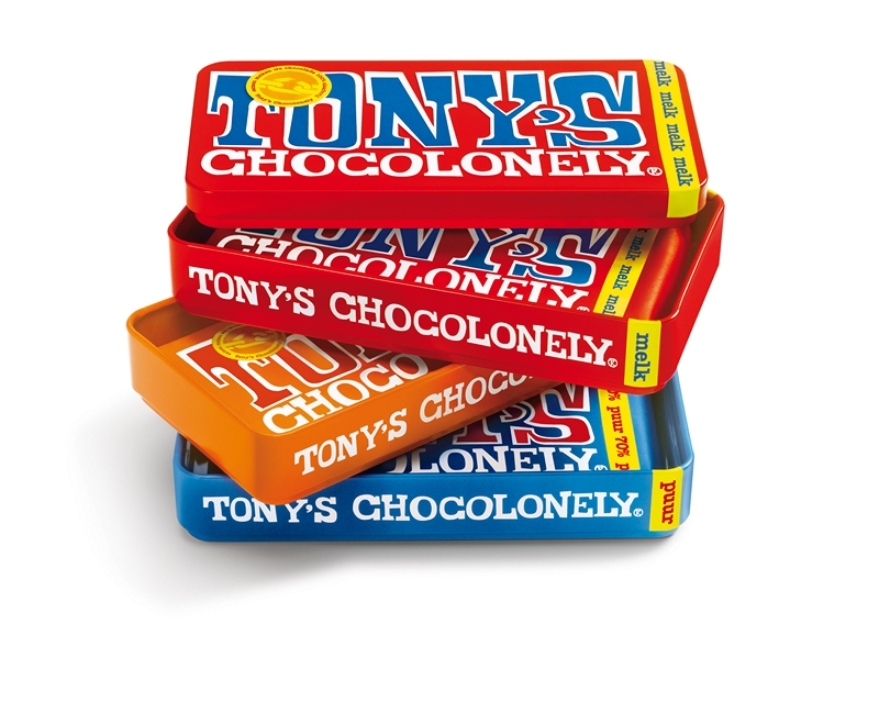 Tony Chocolonely Stapelblik
