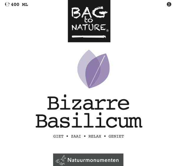Bag to Nature Bizarre Basilicum