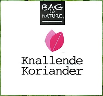 Bag to Nature Knallende Koriander