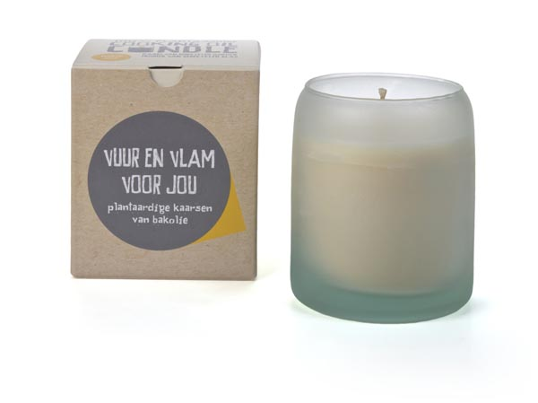 The Greatest Candle Geurkaars Naked Soul White