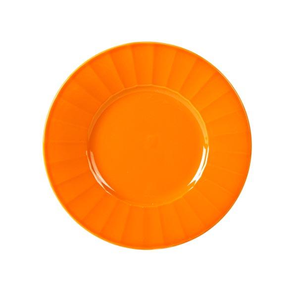 Bord 'Lemonade' Oranje Keramiek O=19cm