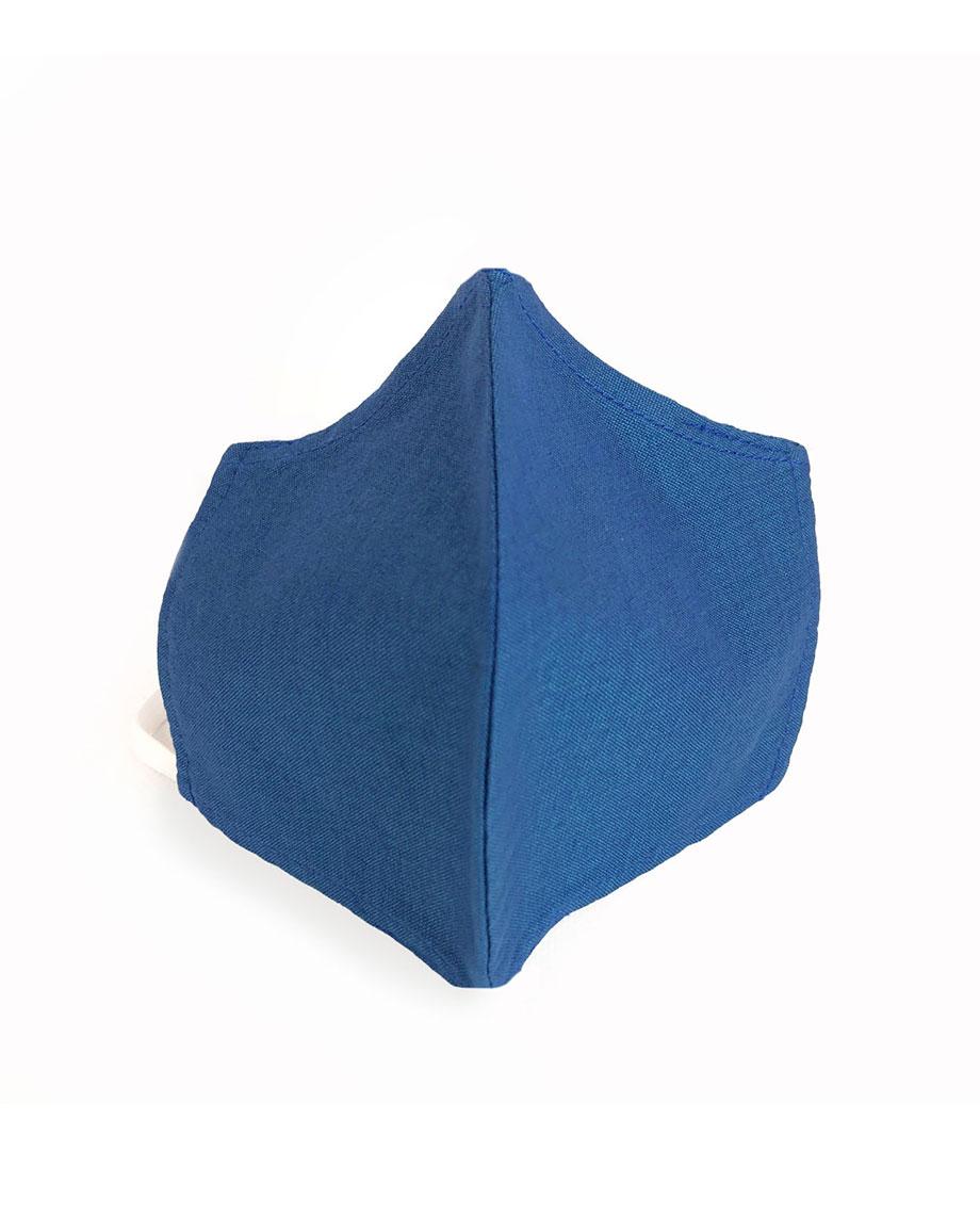 Mondkapje M, blauw