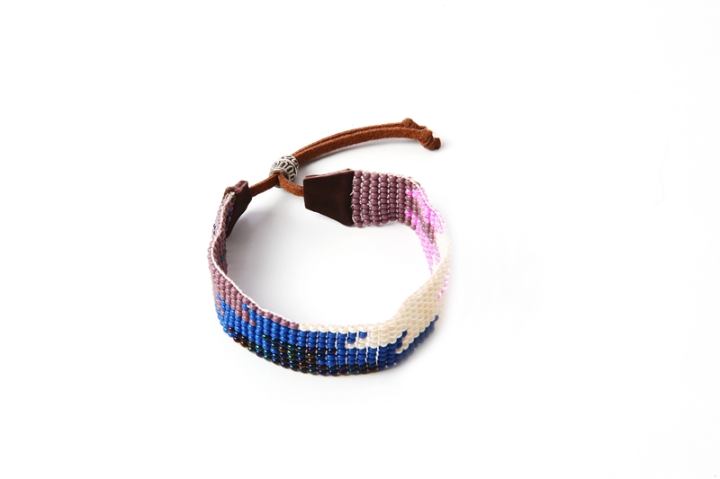 Armband Suede Paars