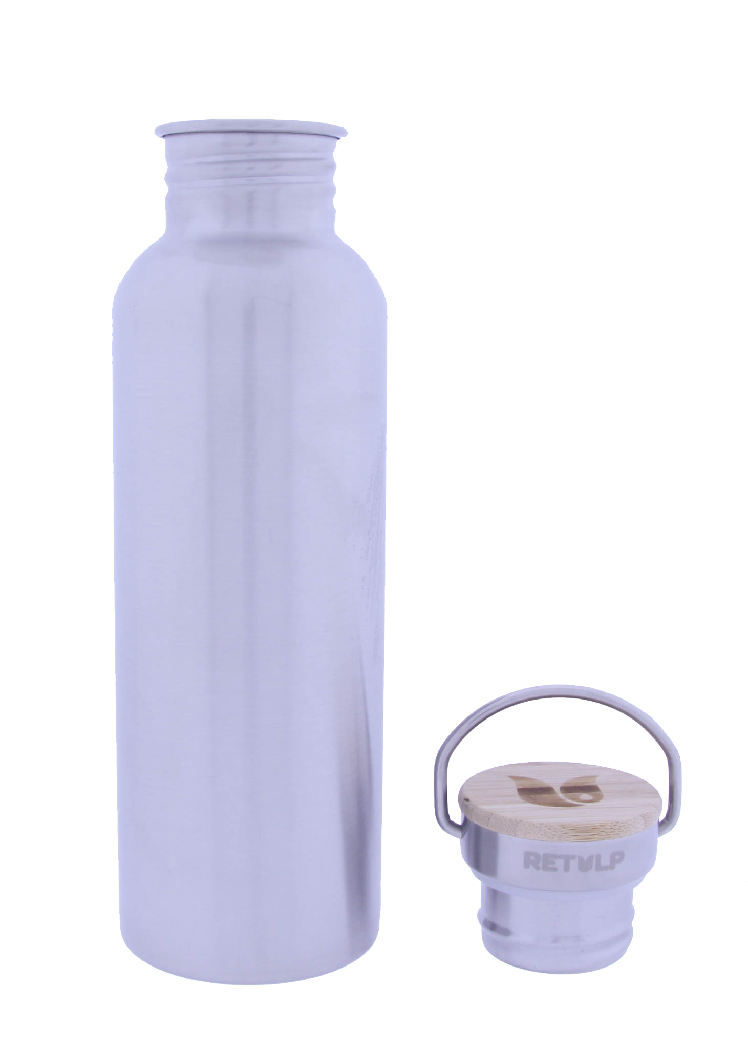 Retulp Urban Drinkfles RVS met Bamboo dop 750 ml