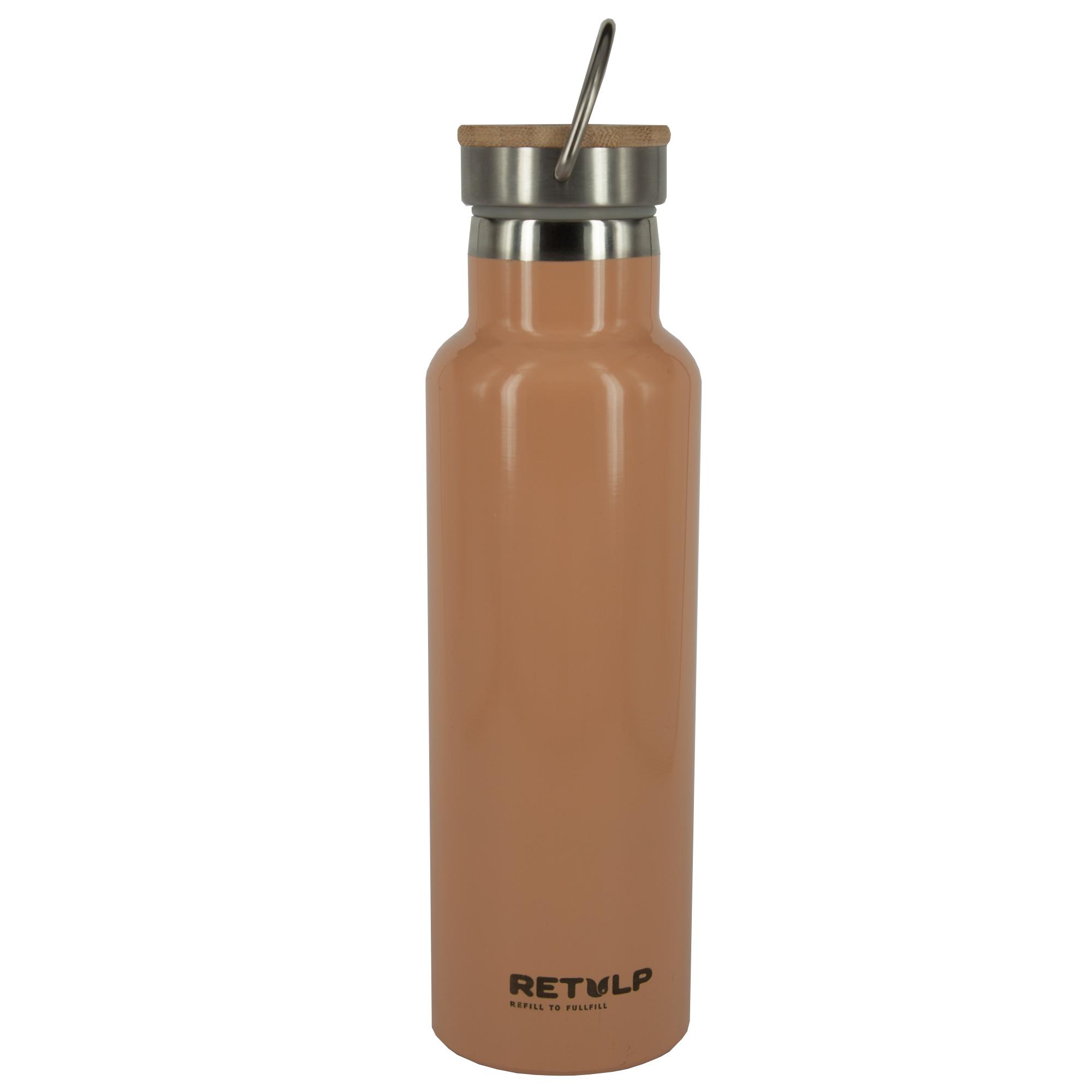 Retulp Urban Thermos Champagne Pink met Bamboo dop 600 ml