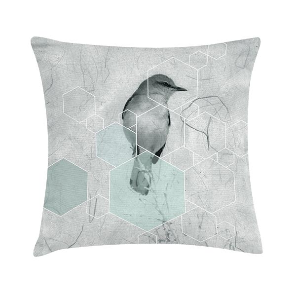 Eco Design Kussen Spring Mint 45x45