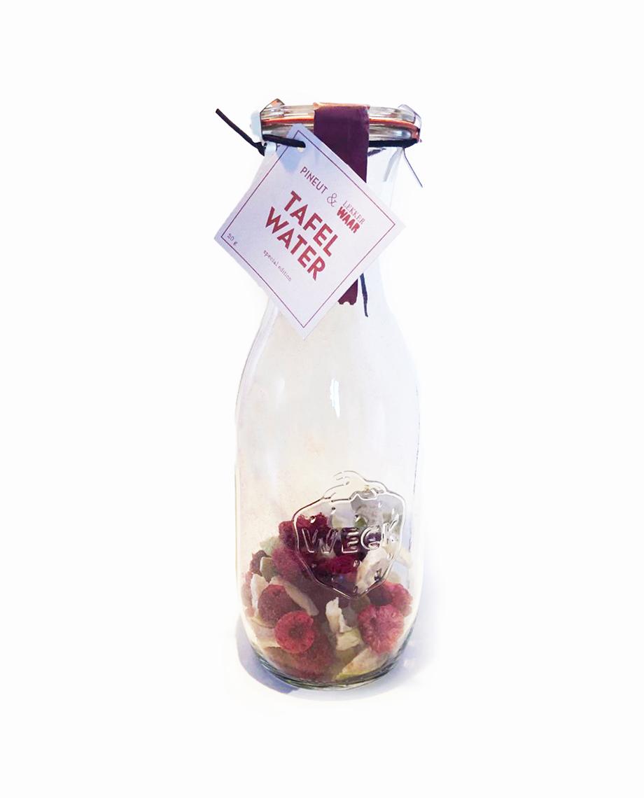 LekkerWAAR Tafelwater Kers, Framboos, appel