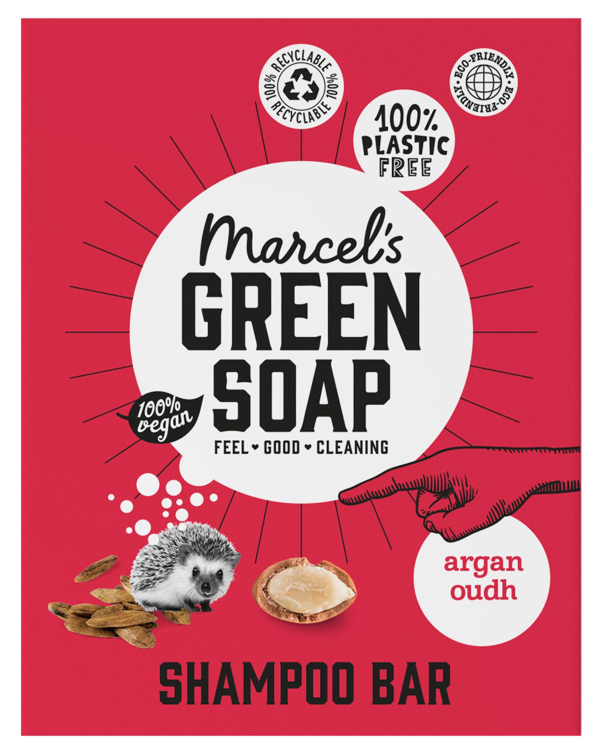 Shampoo Bar Argan & Oudh, 90g