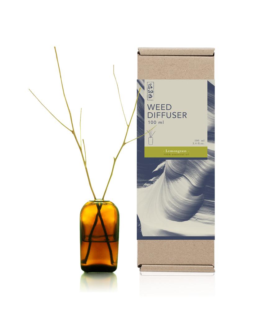 Diffuser 100ml Lemongrass (Eo)
